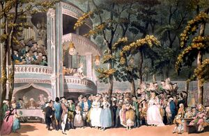 Vauxhall Pleasure Gardens London History of London - Vauxhall / Lambeth