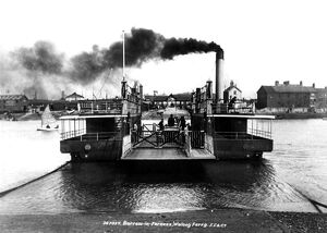 Vickers ran this steam ferry for their workmen on Walney Island, Barrow in Furness