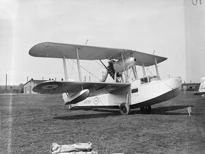 Vickers Supermarine ' Walrus ' Amphibian Flying Boat with a Bristol Pegasus engine