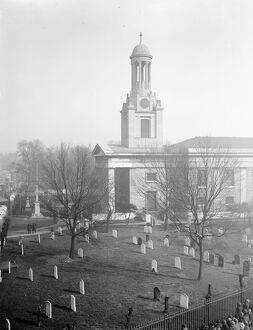 A view of St Mark's Kennington. 3 May 1927