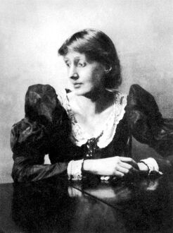 VIRGINIA WOOLF AUTHOR 1929 Bloomsbury Group, who were radical artists for their time