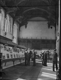 The War Office held an exhibition at the Army School of Education, Eltham Palace