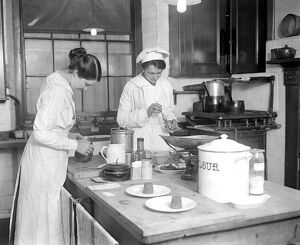 Where our war time dishes are invented an experimental kitchen at Grosvenor House