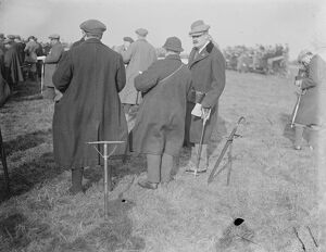 The Waterloo Cup Well known people at coursing meeting. Sir Robert Jardine 19