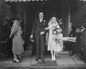 Wedding of Captain Walter Alastair Boyd and Miss Agnes Madeline Macalpine Leny at