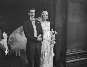 Wedding of Lord Weymouth and the Honourable Daphne Vivian at St Martin 's in