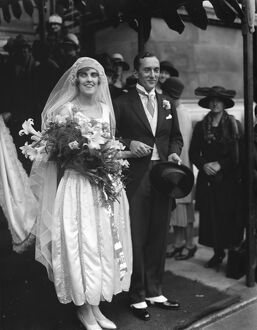Wedding. The marriage between Capt K L Bodenham and Miss R Strickland took place