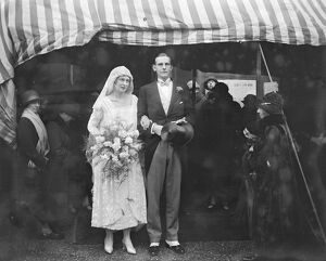 Wedding of Mr C Dalrymple Belgrave and Miss Marjorie Barrett Lennard at St Mark &#39