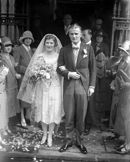 Wedding of Mr Hamilton Ingledew (of Llandaff), and Miss Mary Frazer (of Creigiau)