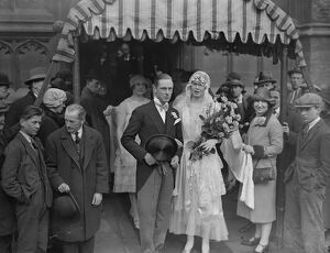 Wedding of Mr Richard S De Quincey and Miss Anne Maud Duff - Gordon ( daughter of Mr