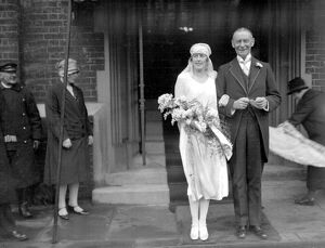 Wedding of Mr T. Maule Guthrie and Miss Ella K. Leete at Holy Trinity, Brompton. 21