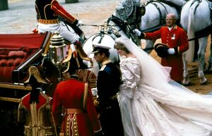 Wedding of Prince Charles and Lady Diana Spencer 29th July 9181