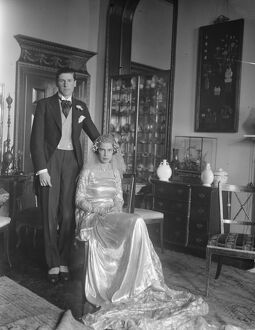 Wedding of Prince Jean Louis de Faucigny Lucinge and Miss Baba D'Erlanger at