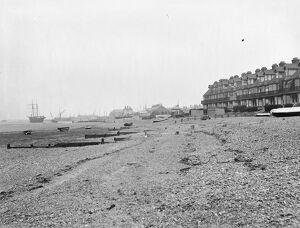 Whitstable, West Beach 1925