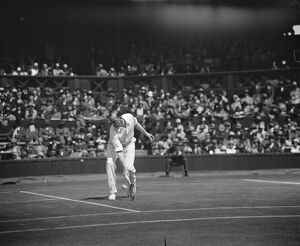 Wimbledon lawn tennis championships. Patterson in play. 3 June 1929