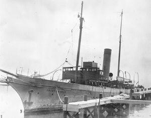 World Flight vessel seized in US The steamer Frontiersman, owned by the Legion of