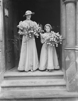 Wrathall and Roberts wedding, Sittingbourne. 1937